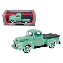 1948 Ford F1 Pickup Truck Green 1/18 Diecast Model Car by Road Signature 9221... - $63.94