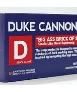 Duke Cannon Men's Big Brick of Bar Soap Smells  Like Naval Supremacy 01B... - $13.98