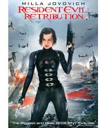 Resident Evil: Retribution (DVD, 2012, Includes Digital Copy UltraViolet) - $9.00