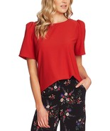 Vince Camuto Womens Gathered Puff Sleeve Top - $55.00