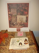 Shepards Bush Pattern Book, 18ct. Fabric And Homespun Heart Thanksgiving Buttons image 2