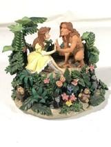 Tarzan Jane Music Box Westland Giftware Strangers Like Me Disney Display... - $79.19
