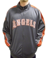 MLB Los Angeles Angels Men's Big & Tall Full Zip Tricot Reflective Track... - $34.95+
