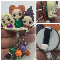 LIMITED EDITION: Hocus Pocus Clay Badge Reel  image 3