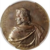 1892 Eglit-223 World's Columbian Expo Cristobal Colon Medal / PCGS MS-65... - $522.50