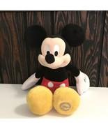 "Disney Store Mickey Mouse Plush Stuffed Animal 13"" - $23.47"