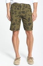 Men's Tommy Bahama Brooklyn Double Reversible Shorts Red Floral Size 32 ... - $39.99