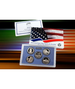 2010 S  America The Beautiful US Mint 5 Quarters Proof Set First In Series - $18.90