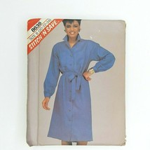 Easy Stitch N Save 8635 Mccall's Sewing Pattern Misses Dress Size 20-24 - $9.89
