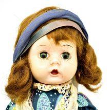 "Vintage 1950s Arranbee R&B Littlest Angel? Jointed Knee Walking Walker 11"" Doll image 4"