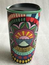 NEW Starbucks +Jessie & Katey Double Walled Ceramic Travel Tumbler Limited - $71.27