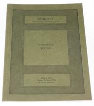 Sotheby's Auction Catalogue Catalog Icons 1 June 1984 London  - $11.83