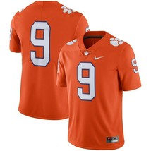 Clemson Tigers Football JERSEY-STITCHED Adult Medium & XL-NWT-RETAIL$135 - $69.99