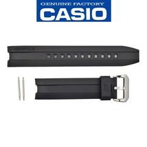Genuine CASIO Watch Band Strap Edifice  EMA-100-1AV Original Black Rubbe... - $36.95