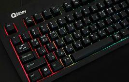 QSENN SEM-DT35SLED Korean English Gaming Keyboard USB Wired for PC image 4