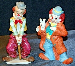 Clown Figurines (Pair ) AA-192054 Vintage image 1