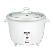 Better Chef IM-400 8-Cup (16-Cups Cooked) Automatic Rice Cooker in White - $64.69