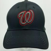 Washington Nationals Adjustable MLB Baseball Hat Fan Favorite Black Gray... - $14.95