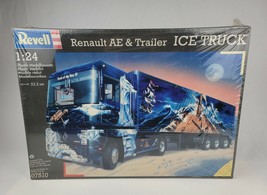 1996 Revell 1/24 Model Renault AE & trailer Ice Truck Tractor Trailer New Sealed - $233.74