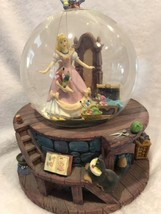 Cinderella Walt  Disney Snow Globe  Musical Retired Rare Plays Song - $116.88