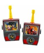 Incredibles 2 Walkie Talkies for Kids Static Free Extended Range Kid Fri... - $23.50