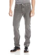 NEW LEVI'S 501 MEN'S ORIGINAL FIT STRAIGHT LEG JEANS BUTTON FLY GRAY 501-2149
