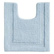 InterDesign Microfiber Polyester Contour Bathroom Rug Spa, Water - $23.25