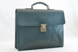 LOUIS VUITTON Taiga Laguito Epicea Briefcase M3109P LV Auth 1116 - $198.00