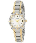 NWT Bulova Women's 98R170 Diamond-Accented Stainless Steel Watch - $247.45