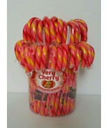 Jelly Belly Very Cherry Gourmet Candy Canes- 20 pack - $18.61