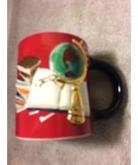 CRACKER BARREL COFFEE MUG / CUP--AMERICAN HERITAGE--TEACHER   --FREE SHI... - $22.48