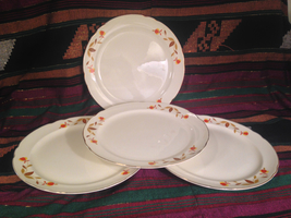 "10"" Jewel Dinner Plates- authenticated, c. 1970's - $60.00"