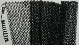 Fireplace 2418 Replacement Screens Heavy Guage Steel Woven Wire Mesh Black 1 Set image 8