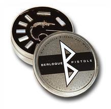 Key Ring BERLOQUE pinfire gun flintlock pistol Complete Set metal Gift B... - $119.00
