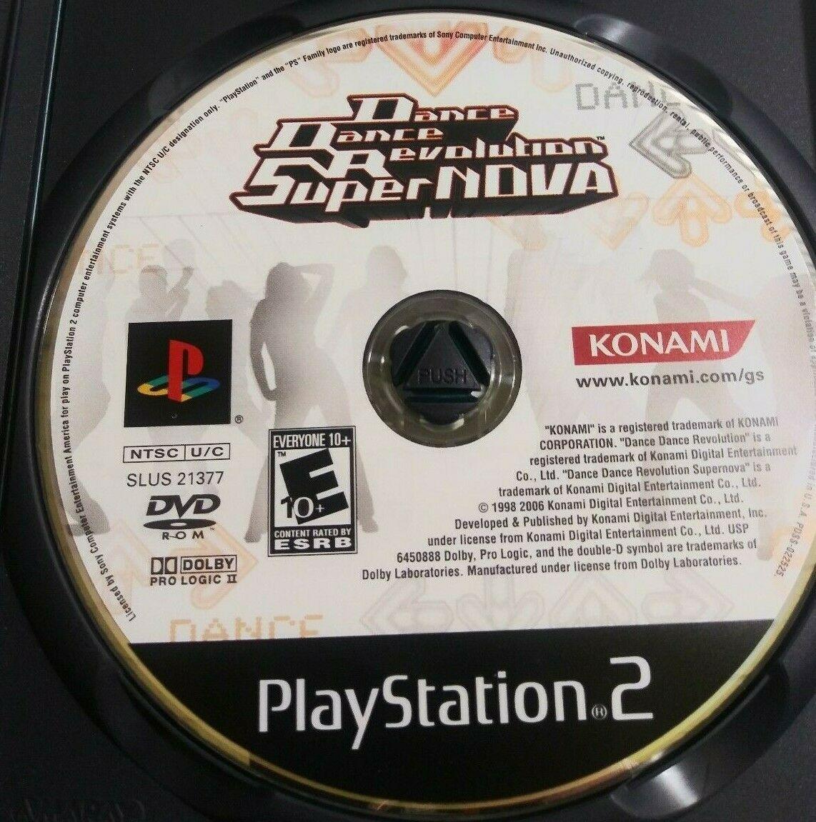 Dance Dance Revolution Super Nova Sony PlayStation 2, 2006 image 3