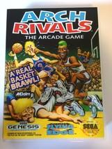 Arch Rivals - Sega Genesis - Replacement Case - No Game - $7.91