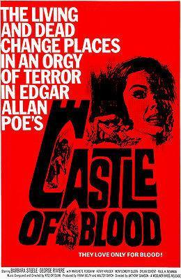 Primary image for Castle of Blood - 1964 - Movie Poster