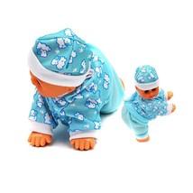6'' inch Reborn Baby Doll Electric Crowl Talk Mama Daddy Laugh Sing Musi... - £15.69 GBP