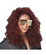 California Costumes Burgundy 3/4 Curly Fall Wig Women's Halloween Costum... - £13.23 GBP