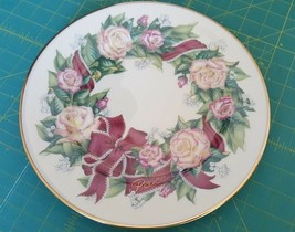 "LENOX 1996 Sentiments Of Roses Collection PEACE 10 3/4"" Dinner Plate - $9.99"