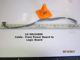 "LG 50"" 50LS4000 Power Board EAX64648101 (1.9) Cable to Logic Board - $14.95"