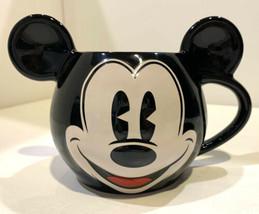 Mickey Mouse Ears Black Mug Disney Theme Parks - $23.75