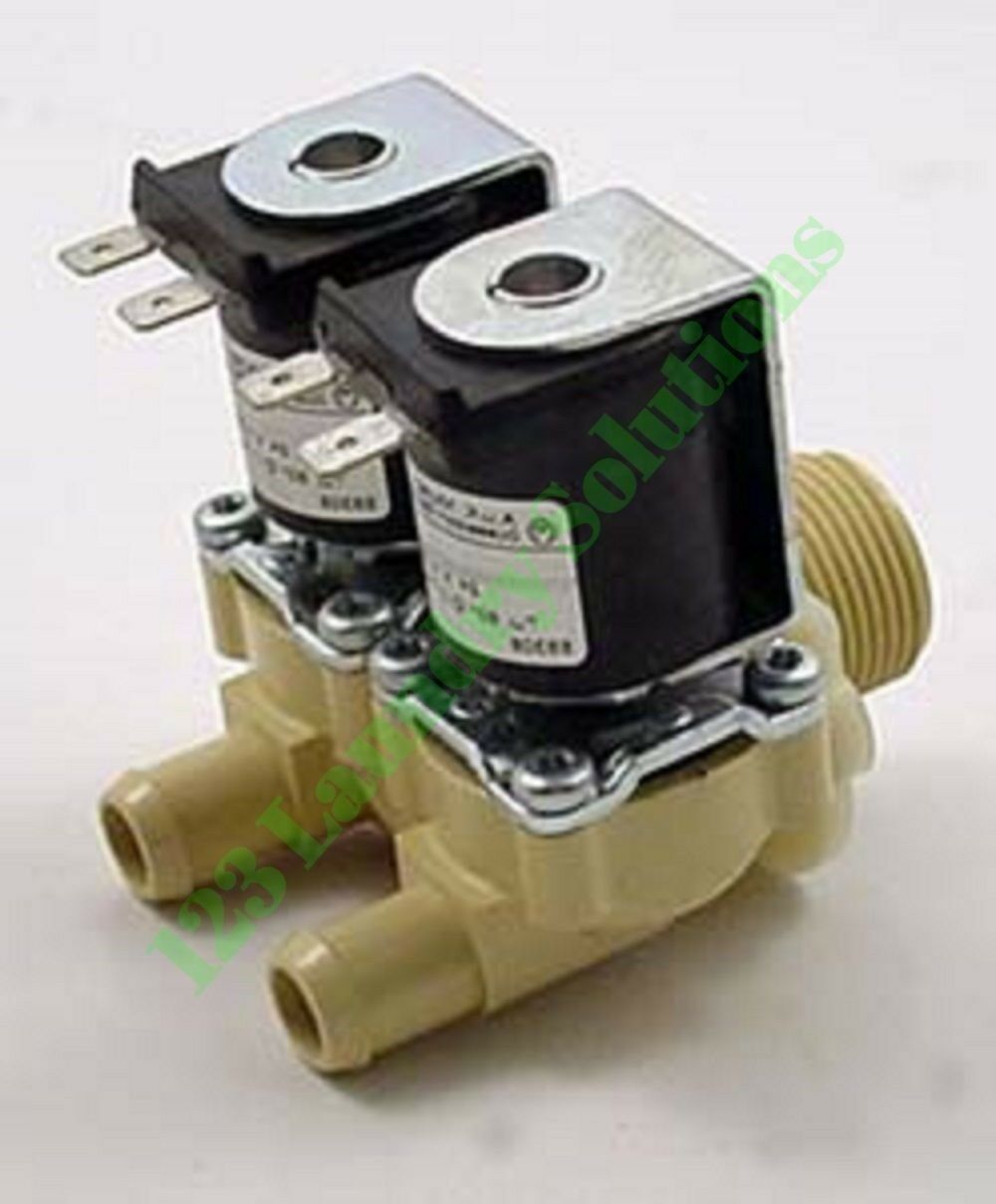 Primary image for NEW Washer VALVE 2WAY 24V 10MM-G3/4 for 380790 HUEBSCH F380790
