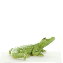 Hagen Renaker Miniature Alligator Ceramic Figurine