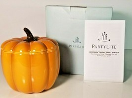 Partylite Pumpkin Patch Holder P9971 Jar w Lid - $21.78