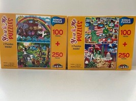 You & Me Puzzles 100 & 250 Piece Jigsaw Puzzles Noah's Ark & Made in Ame... - $18.67