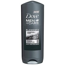 Dove Men + Care Elements Body Wash, Charcoal and Clay, 13.5 Ounce(Pack ... - $15.93