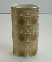 Rosenthal Studio Line Bjorn Wiinblad Quatre Couleurs Gold Porcelain Vase - $123.75