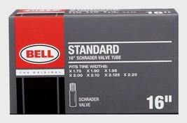 "BELL SPORTS 16"" Universal Schrader Valve Bike Tube Bicycle 1.75""-2.25"" 7015355 - $7.01"