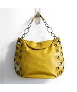 CHI by Falchi Mustard Grommet Hobo Bag - $106.37